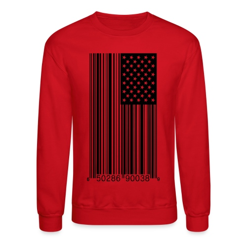 Barred America Crewneck - Crewneck Sweatshirt