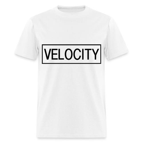 Velocity Shirt Black line - Men's T-Shirt