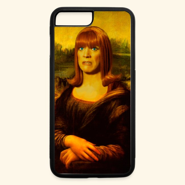 Miss Coco Lisa iPhone 7 Plus/8 Plus Rubber Case