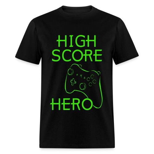 HIGH SCORE  - Men's T-Shirt