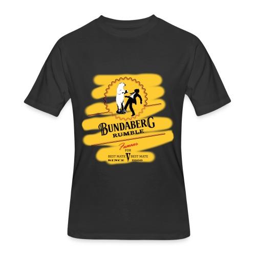 Bundaberg Rumble, yellow - Men's 50/50 T-Shirt