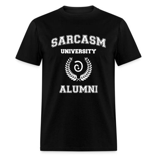 Sarcasm University Alumni - Men's T-Shirt