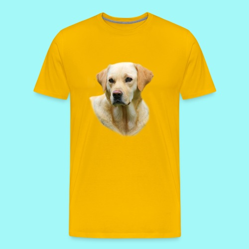 Yellow Lab T-shirt Worn in Hangover 2 Movie - Men's Premium T-Shirt