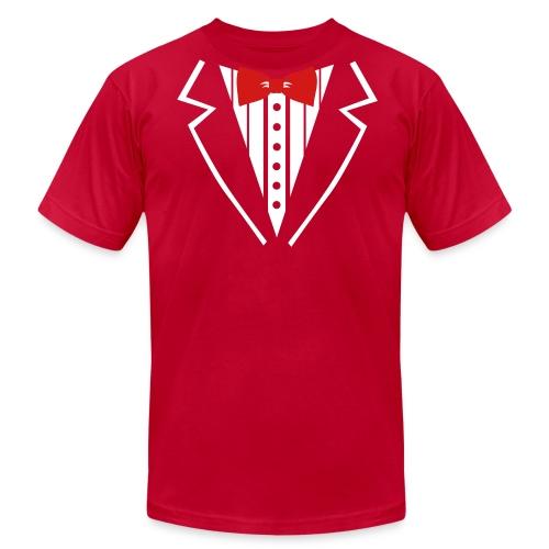 Tux T-Shirt- Men - Men's Fine Jersey T-Shirt