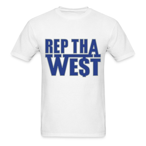 Rep Tha West T-Shirt - Men's T-Shirt