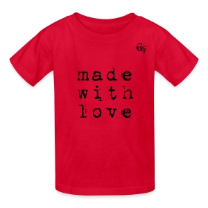 Giada Valenti Made With Love Kid T-Shirt - Kids' T-Shirt