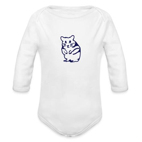 Hamster - Organic Long Sleeve Baby Bodysuit