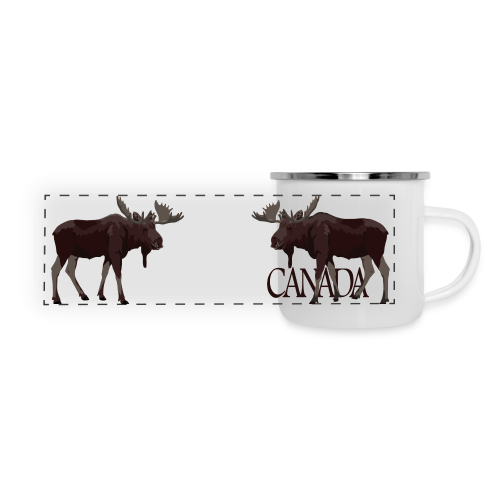 Canada Moose Souvenir Cups & Mugs - Panoramic Camper Mug