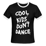 T-Shirts ~ Men's Ringer T-Shirt by American Apparel ~ Cool Kids Don't Dance T-Shirts