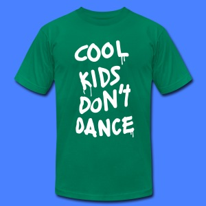 Cool Kids Don't Dance T-Shirts - Men's T-Shirt by American Apparel