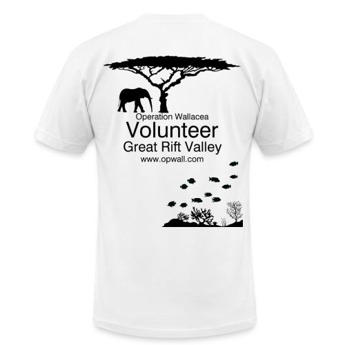 Opwall Great Rift Valley Men's T-Shirt - Men's  Jersey T-Shirt