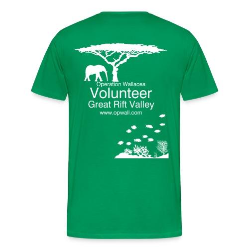 Opwall Great Rift Valley Men's Premium T-Shirt - Men's Premium T-Shirt