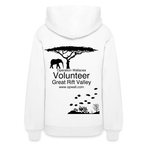 Opwall Great Rift Valley Women's Hoodie - Women's Hoodie