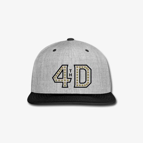 4th Down Hat - Snap-back Baseball Cap