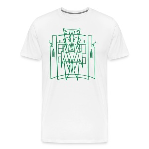 This is the City - Kustoms Los Angeles (for LIGHT XL shirts) - Men's Premium T-Shirt
