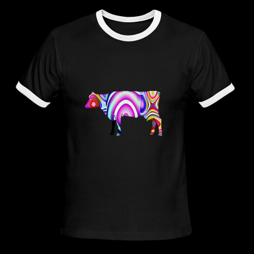 Cow - Men's Ringer T-Shirt
