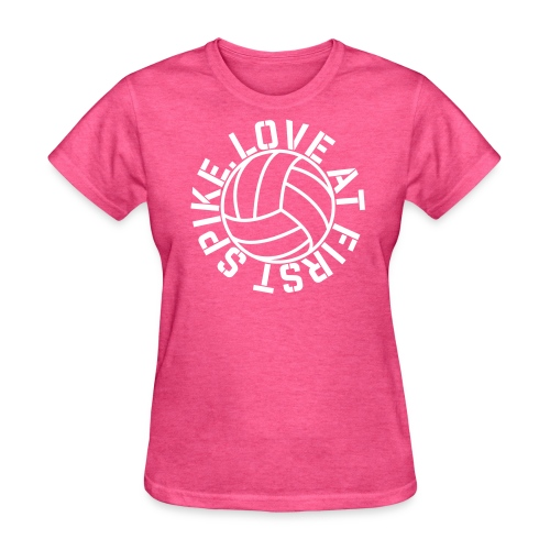 Love at first Spike Volleyball elite player trainer t-shirt  - Women's T-Shirt