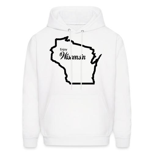 Enjoy Wisconsin Hoodie  - Men's Hoodie