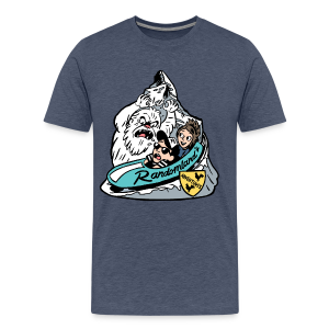 YETI BOBSLED TEAM! PLUS Sizes / Premium - Men's Premium T-Shirt