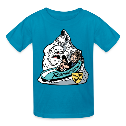 YETI BOBSLED TEAM! Kids! - Kids' T-Shirt