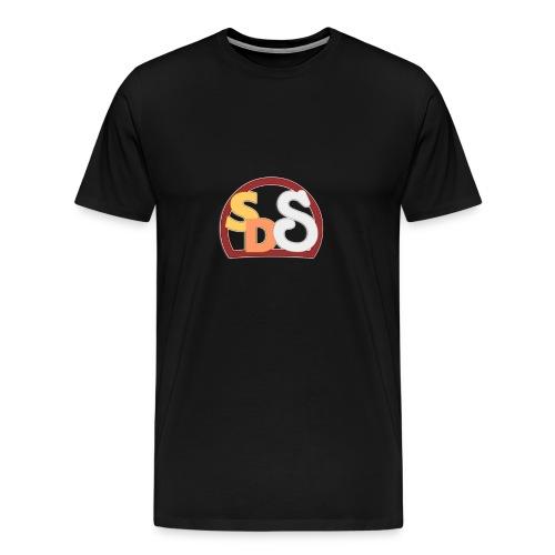 Camisa Premium Logo corto SDS - Men's Premium T-Shirt