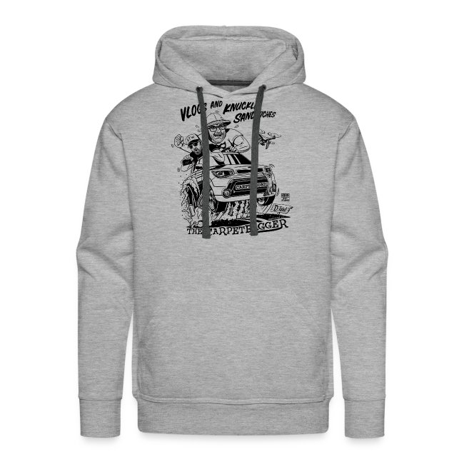 Vlogs and Knuckle Sandwiches Hoodie