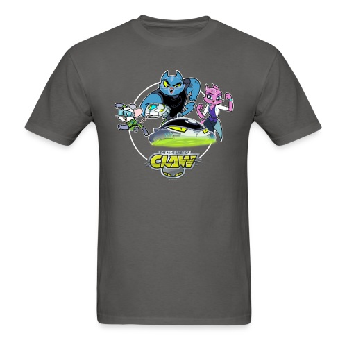MENS OFFICIAL CLAW HEROES/HOVERCAT TEE - Men's T-Shirt