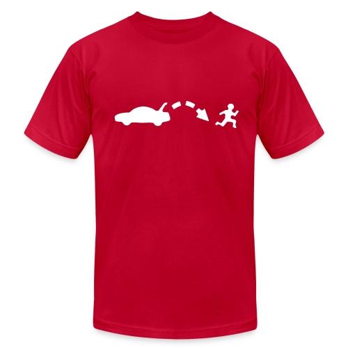 Men's Red Jump shirt - Men's Fine Jersey T-Shirt