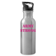 Sportswear ~ Water Bottle ~ Army Strong Waterbottle