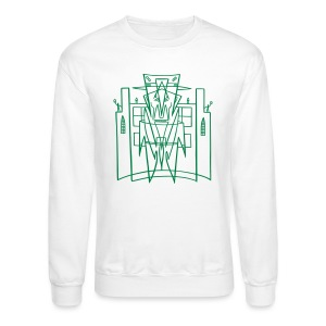 This is the City Front only - (for LIGHT Sweat-Shirts) - Crewneck Sweatshirt