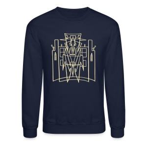 This is the City Front only - (for DARK Sweat-Shirts) - Crewneck Sweatshirt
