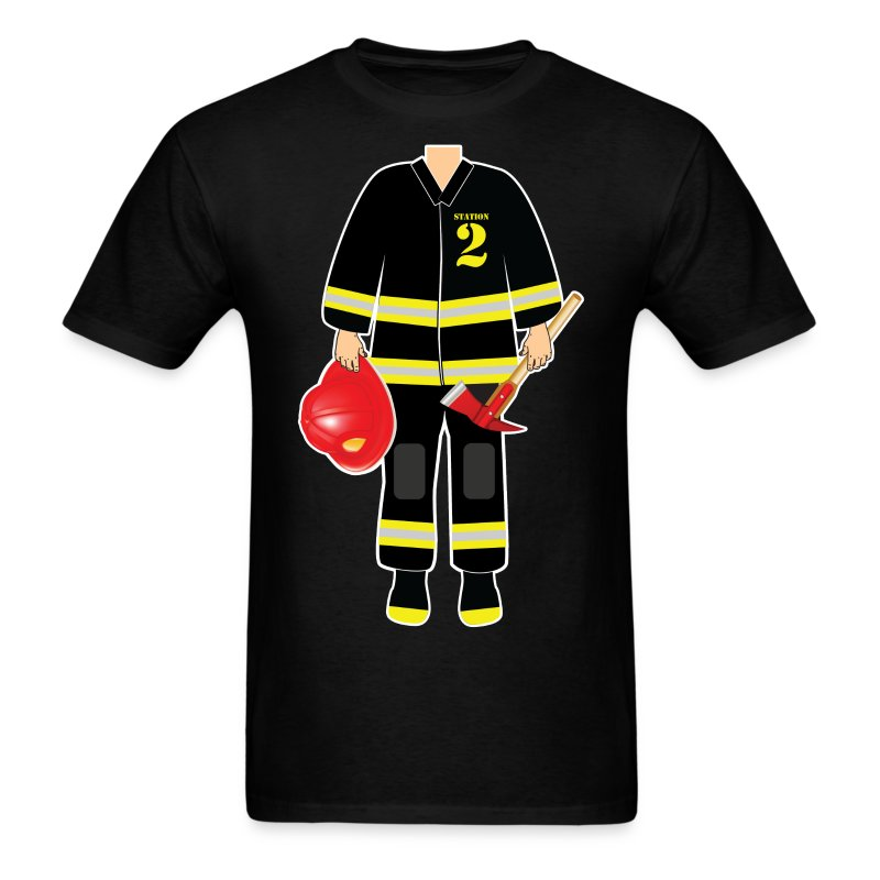 Fireman - Men's T-Shirt