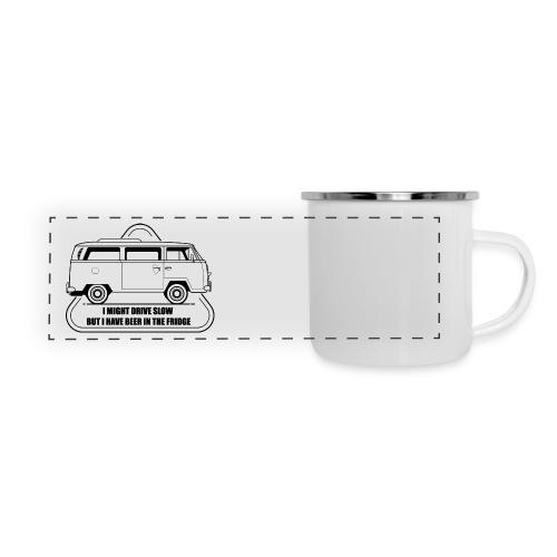 But I have beer - Mugs - Panoramic Camper Mug