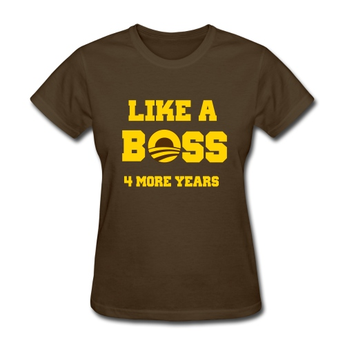 Iota Sweet Obama Like a Boss - Women's T-Shirt