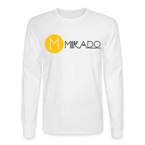 Mikado Small Title Long Sleeve T-Shirt - Men's Long Sleeve T-Shirt