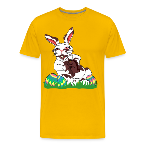 Funny Easter Bunny T-shirts Men's - Men's Premium T-Shirt