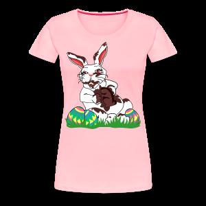 Funny Easter Bunny T-shirts Women's - Women's Premium T-Shirt