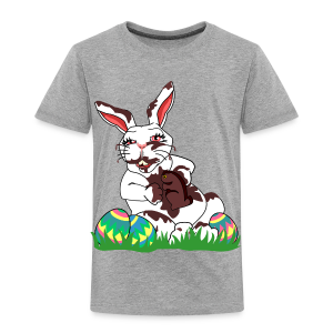 Souvenirs and gifts by kim hunter collection funny easter bunny t shirts toddlers toddler premium t shirt negle Image collections