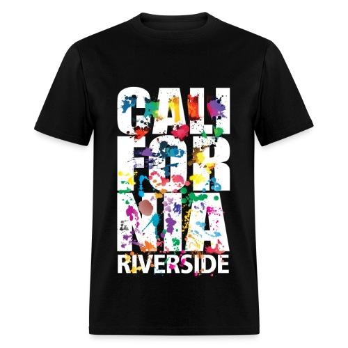 Riverside Cali Airbrush - Men's T-Shirt
