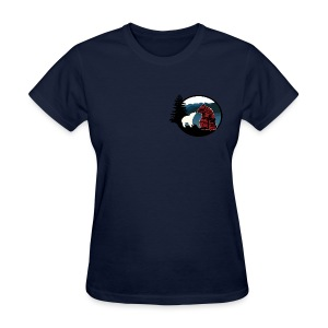 Women's T-Shirt with Small Logo - Women's T-Shirt
