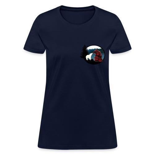 Women's T-Shirt with Small Logo - Women's T-Shirt