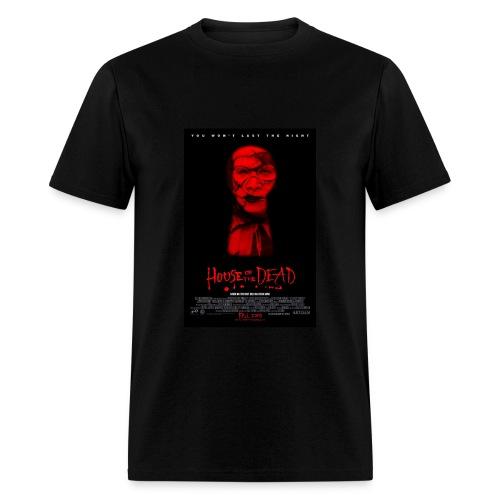 House of the Dead movie rare B-poster art T-shirt - Men's T-Shirt
