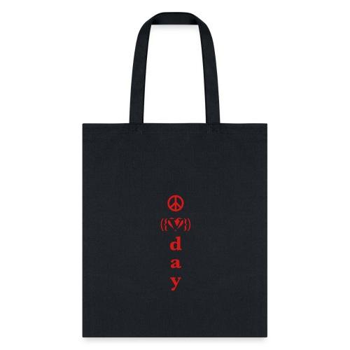 * V-Day: ☮ ❤ #MeToo *  - Tote Bag