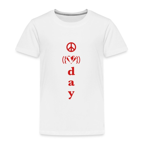 * V-Day: ☮ ❤ #MeToo *  - Toddler Premium T-Shirt