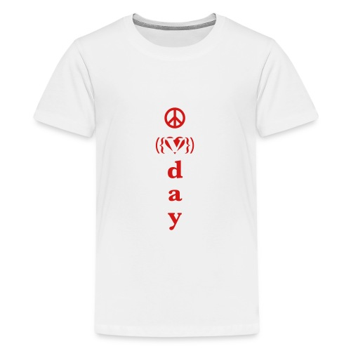 * V-Day: ☮ ❤ #MeToo *  - Kids' Premium T-Shirt