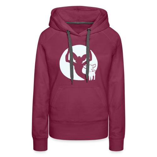 Evil Goat Doe Hoodie - Women's Premium Hoodie