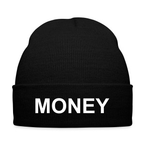 As Worn By The Game - MONEY - Knit Cap with Cuff Print