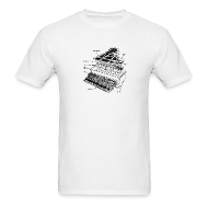 T-Shirts ~ Men's T-Shirt ~ Grand Piano