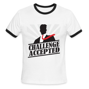 Challenge Accepted - Men's Ringer T-Shirt
