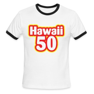 Hawaii 50 - Men's Ringer T-Shirt
